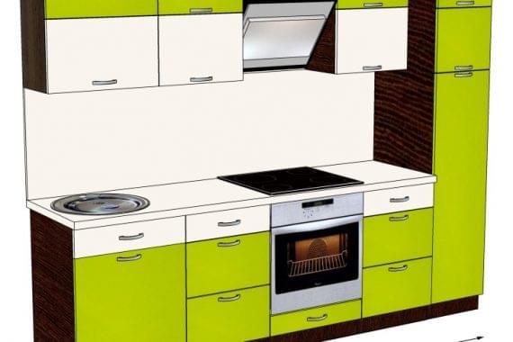 Кухня пластик HPL