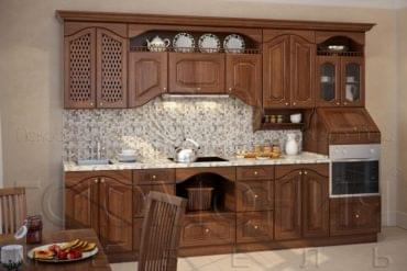 Кухни массив ясеня «Гармония»