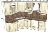 Кухня «Дворянское гнездо» с выставки в Воронеже - изображение 5